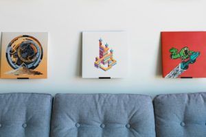 Super Cool Prop/Art Display Wall Mount Invented by Two LA Designers
