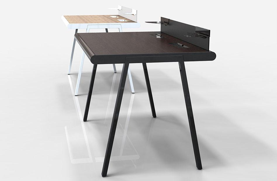 Minimal Design Desk by Pasadena's ArtCenter Alumni Henner Jahns