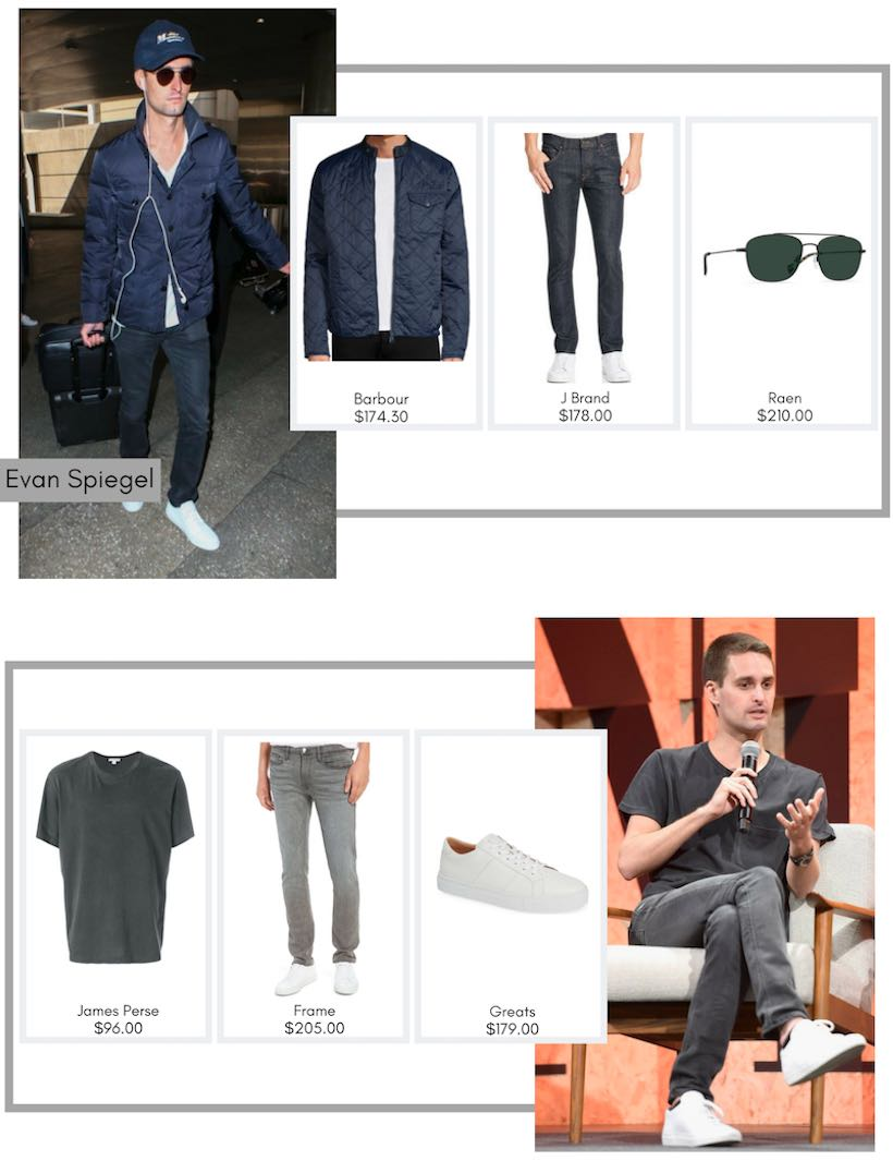 LA Startups - Dress Like a Tech Titan - Evan Spiegel