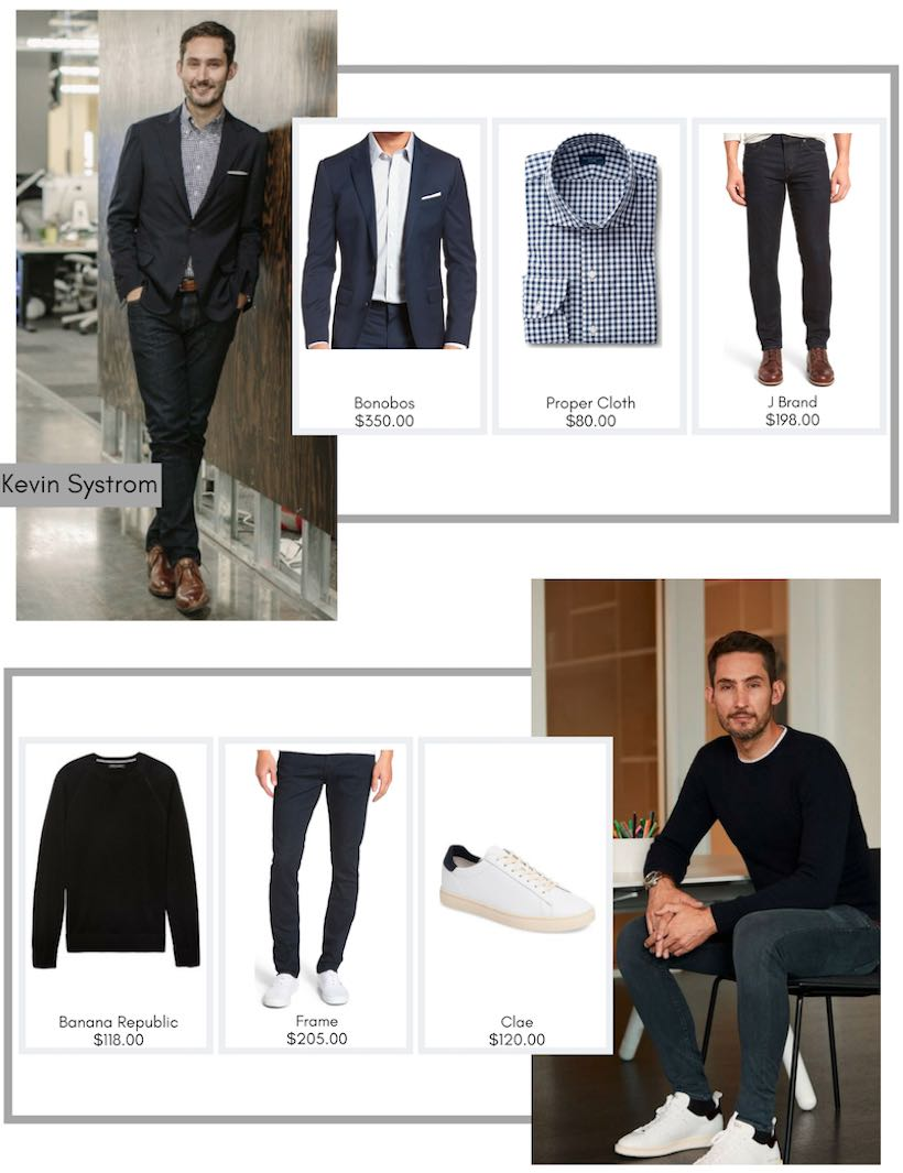 LA Startups - Dress Like a Tech Titan - Kevin Systrom